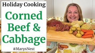 Traditional Corned Beef And Cabbage Recipe for St. Patrick's Day