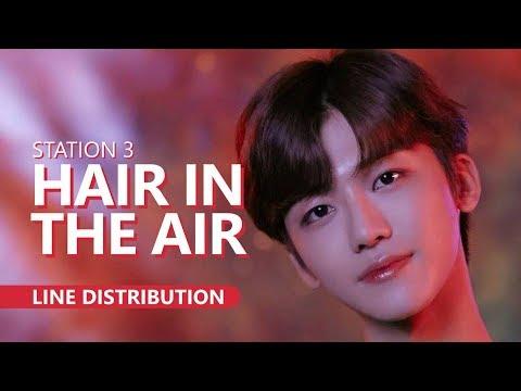 [STATION 3] 예리X런쥔X제노X재민 - HAIR IN THE AIR | Line Distribution
