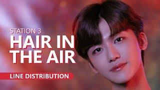 [STATION 3] 예리X런쥔X제노X재민 - HAIR IN THE AIR   Line Distribution