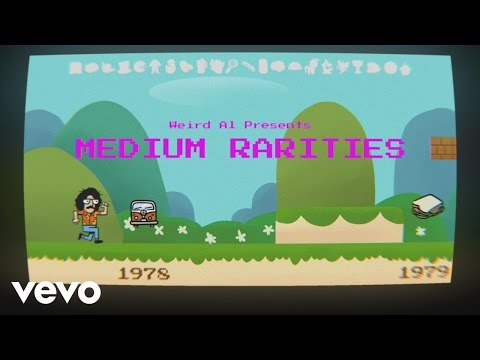 'Weird Al' Yankovic - Medium Rarities Track List Reveal
