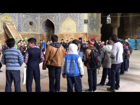 Imam Mosque, Isfahan, Iran.