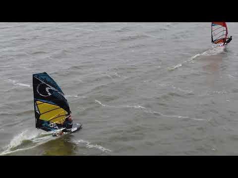 Slotermeer - Windsurfing 2017 - Drone