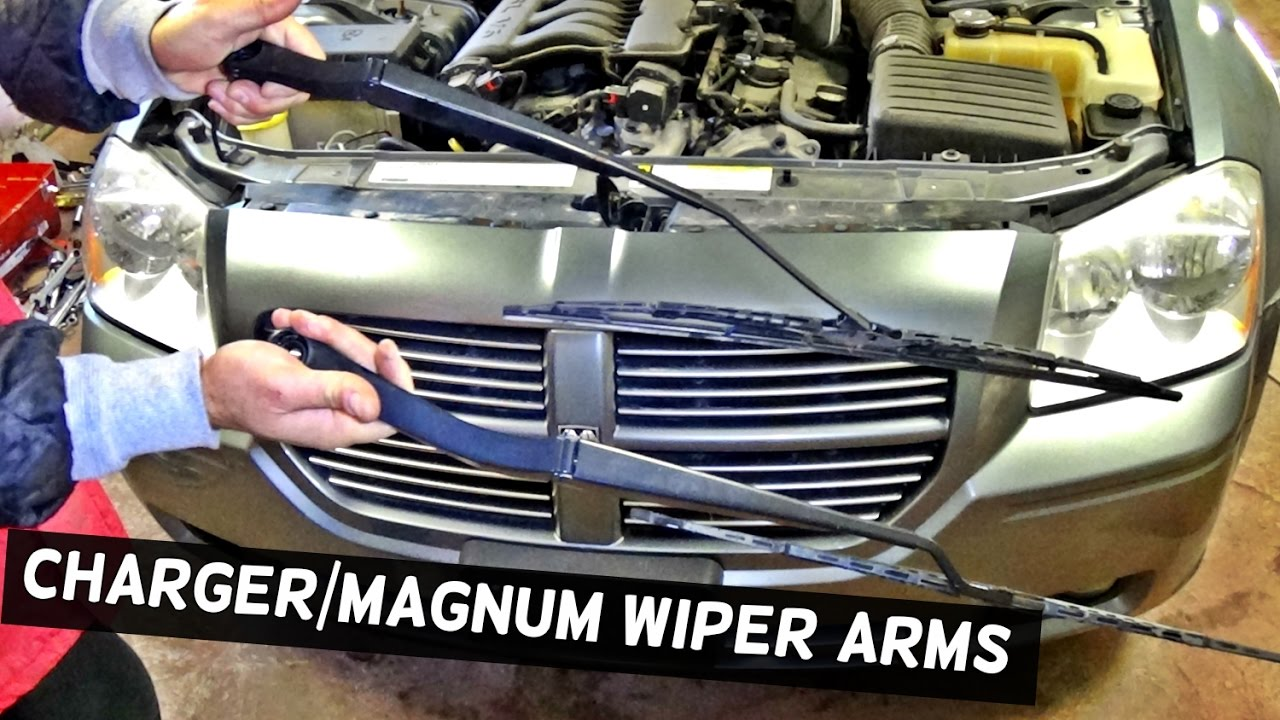 Service manual how to remove wipers from a 2001 dodge for Motor vehicle service notification