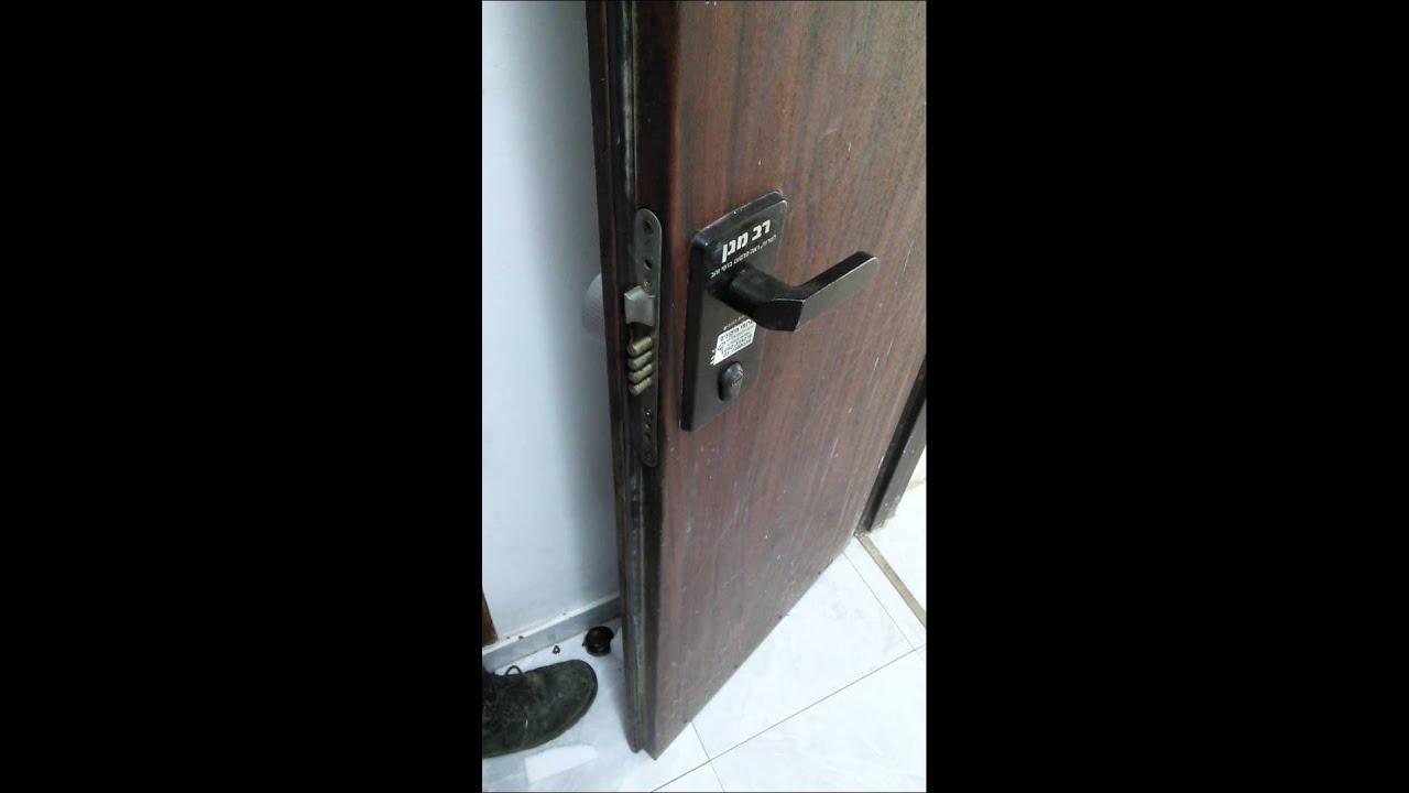 Zwave and bluetooth door lock israeli door youtube for Adt z wave door lock