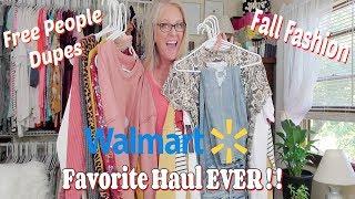 Best Walmart Haul EVER - Fall Fashion On A Budget