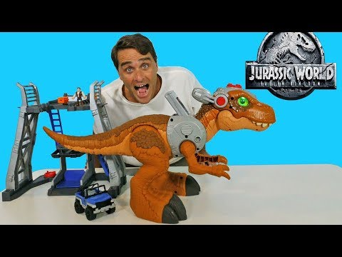 Imaginext Jurassic World Jurassic Rex  ! || Toy Review || Konas2002