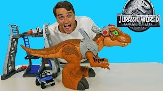 Imaginext Jurassic World Jurassic Rex  ! || Toy Review || Konas2002