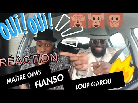 REACTION LES YEZA MAITRE GIMS - LOUP GAROU FT. FIANSO | ZEROA100