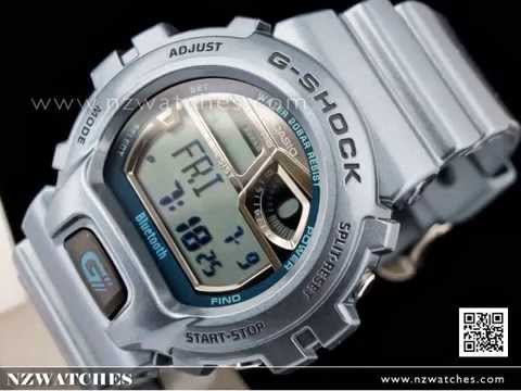 Casio G-Shock Bluetooth Mobile Link Vibrator Watch GB-6900AB-2 ... df0e675c4112