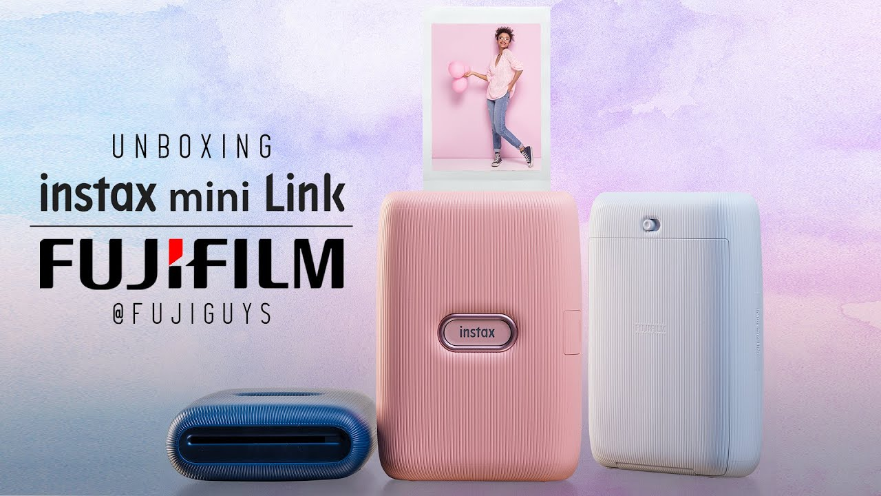 Fuji Guys Instax Mini Link Unboxing Youtube