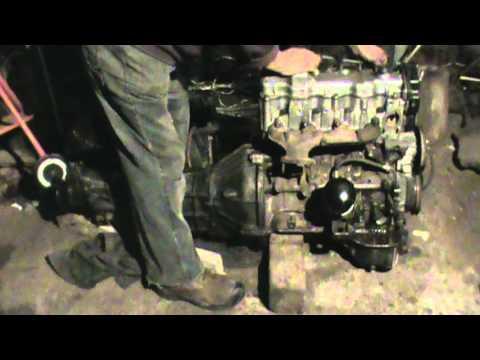 Motor Diesel Toyota 1c, #63 - YouTube