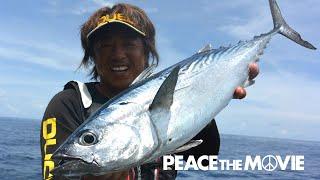 PEACE THE MOVIE「暑中の沖縄フカセ釣り!」沖縄県の旅・慶良間諸島 前編(2日目)/平和卓也(760)