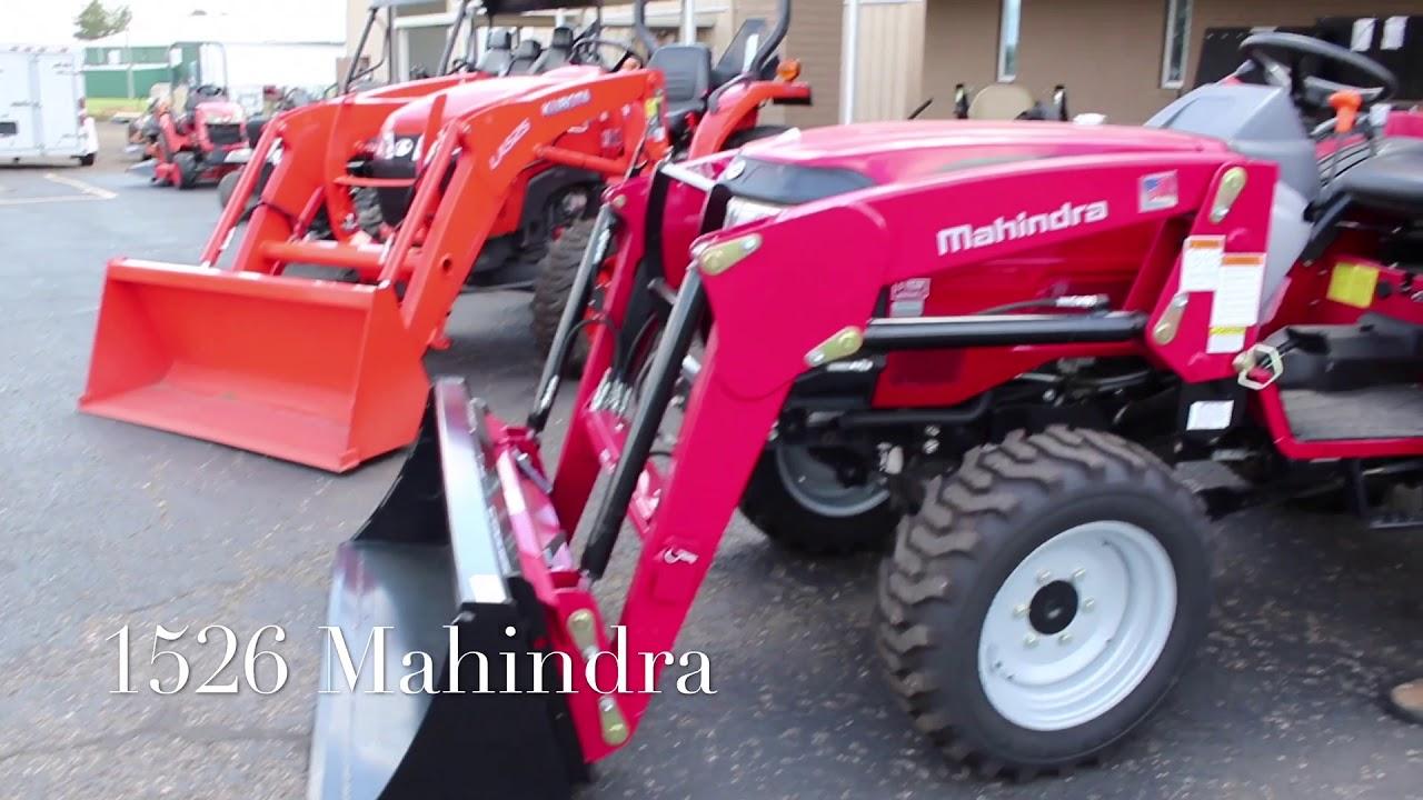 Mahindra 1526 vs Kubota L2501