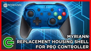 How to install Myriann Replacement Housing Shell for Nintendo Switch Pro Controller
