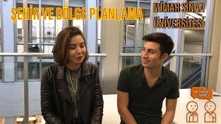 Mimar Sinan Üniversitesi- Şehir ve Bölge Planlama