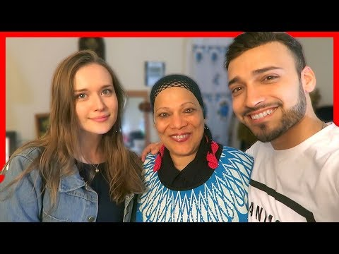 Girlfriend Meets my Arab Mom for the First Time in Eid