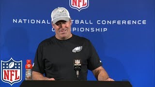 "Doug Pederson's NFC Championship Postgame Presser, ""We're going to the stinkin' Super Bowl"" 