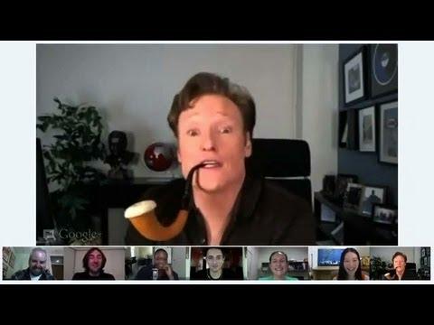 Team Coco Hangout with Conan O'Brien