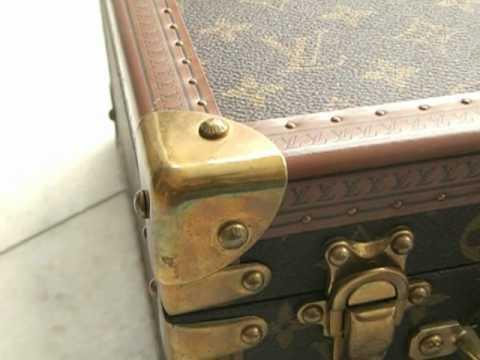 original louis vuitton koffer aktenkoffer schmuckkoffer briefcase youtube. Black Bedroom Furniture Sets. Home Design Ideas