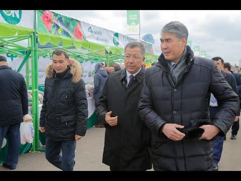 Астана қаласында ОҚО ауылшаруашылық жәрмеңкесі өтуде