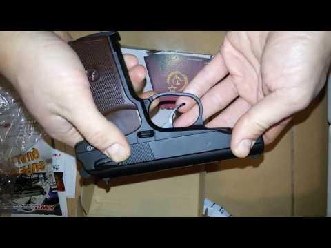 Пневматичний пістолет KWC MAKAROV PM (KM44DHN)