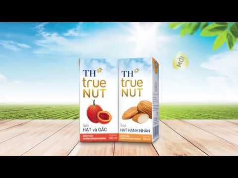 Bộ sữa hạt TH true NUT – Hoàn toàn từ thiên nhiên – Sữa hạt hạnh nhân mới