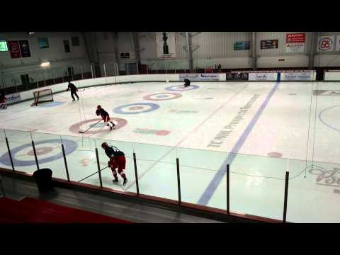 Detroit Red Wigns Development Camp Defensemen Skating Drills