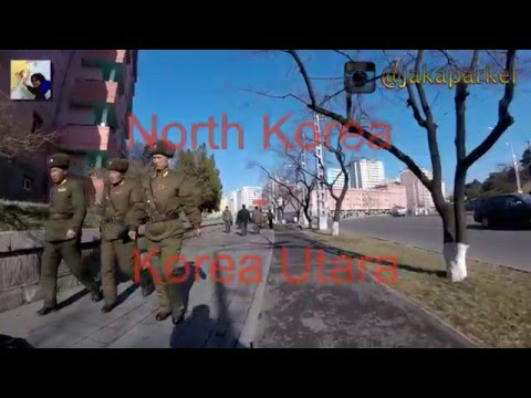 Cycling in Pyongyang - North Korea - Go Pro - Part 3-5