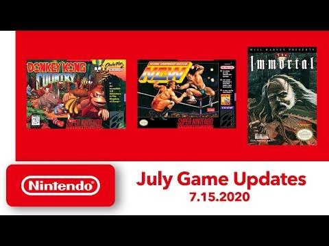 NES & Super NES - July Game Updates - Nintendo Switch Online