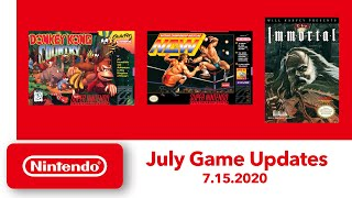 NES & Super NES - July Game Updates - Nintendo Switch Online