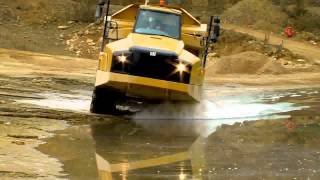 Cat B Series Articulated Dump Truck - Proven Suspension Final