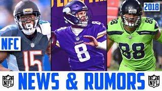 2018 NFL FREE AGENCY LIVE - NFL NEWS & RUMORS 2018 OFFSEASON NFC Kirk Cousins Vikings