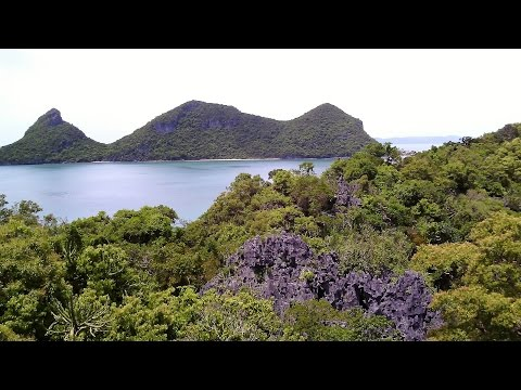 2015-07 Thailand, Koh Samui, 2 von 4, Ang Thong Marine National Park, 4K Ultra HD