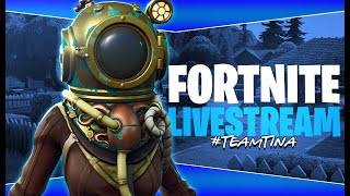 Fortnite Live Chilled Stream Getting used to Builder Pro #TeamTina
