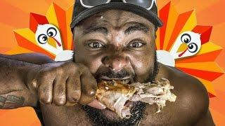 BlumGum does 15lb Turkey Challenge (Thanksgiving Special)