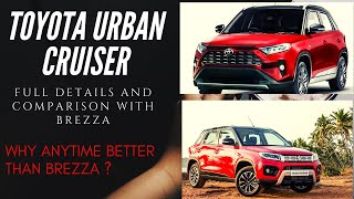 New Toyota Urban Cruiser 2020 Compact SUV Full Details- Launch, Price, Feature Better Than Brezza !!