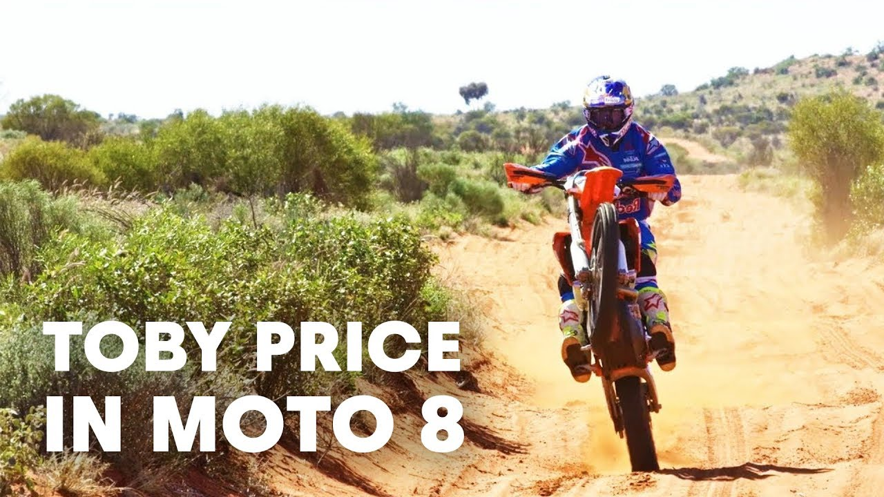 The Outback's most wanted man. | Toby Price in Moto 8