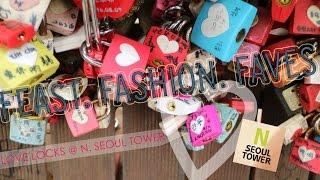 N Seoul Tower N 서울타워 and Love Locks