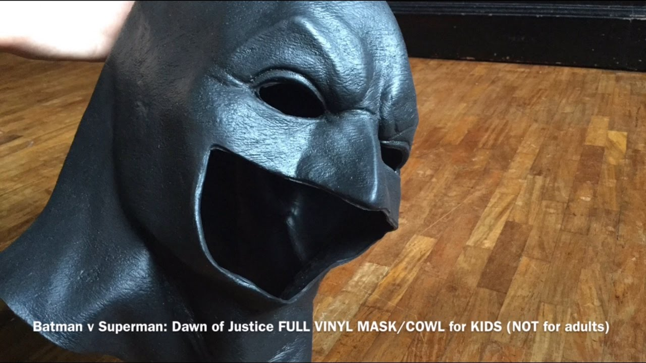 Rubie S Batman V Superman Dawn Of Justice Full Vinyl Mask