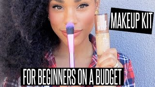 BUDGET FRIENDLY STARTER MAKEUP KIT FOR BEGINNERS