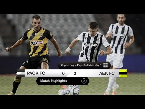 PAOK AEK Goals And Highlights