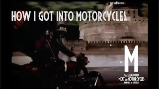 How I got into Motorcycles. Meat and Motorcycles: Fellini Edition on Moto Guzzi V7 in NYC