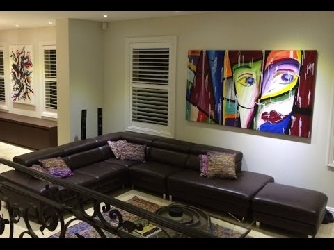 Interior Design Artwork Ideas install Acrylic Painting Techniques YouTube