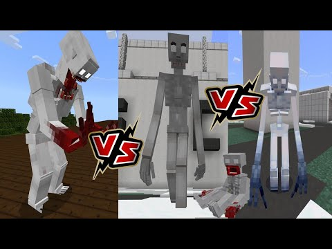 SCP 096 V3 Vs SCP 096 BATTLE ROYALE (WHO IS THE BEST?) Minecraft PE
