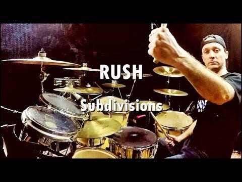 RUSH - Subdivisions - Drum Cover