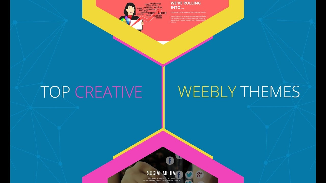 Top 5 creative weebly website templates youtube for Weebly site templates