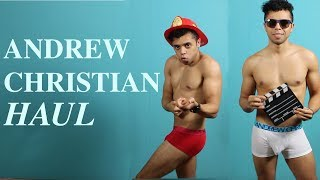 Andrew Christian Underwear Haul | Try On and Giveway!