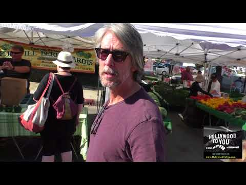 Alan Ruck talks about Ferris Bueller and Young Guns 2 while shopping in at Farmers Market in Studio