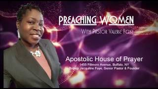 Preaching Women with Valerie Foye - Guest: R.D. Anderson - Bailey 112319