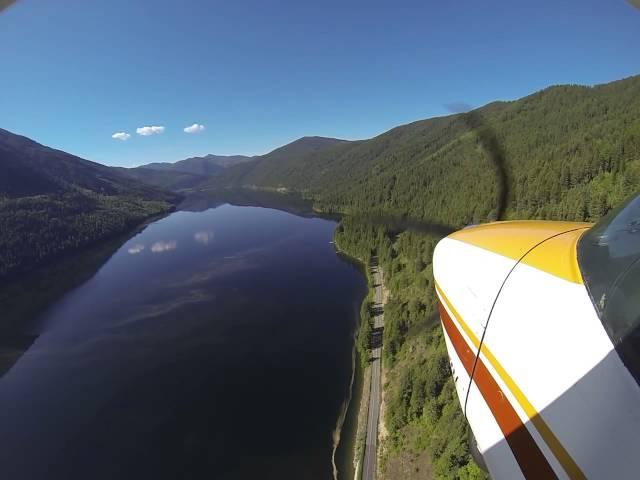 Approach/Landing Sullivan Lake, WA